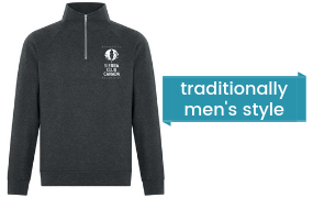 For a donation of $250 receive our comfy Sierra quarter-zip