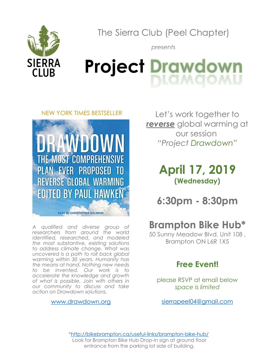 Project Drawdown poster