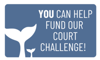 YOU CAN HELP FUND OUR COURT CHALLENGE