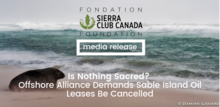 Sable Island Media Release