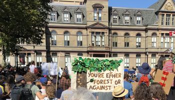 Forest or Against Us, Halifax Climate March, Sept. 27, 2019